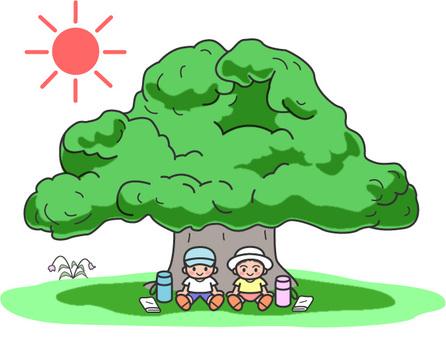 Heat stroke, sunstroke / children