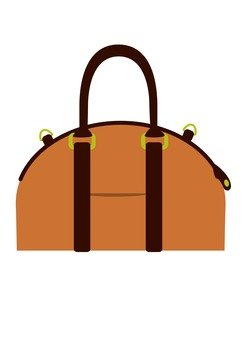 Boston bag (brown)
