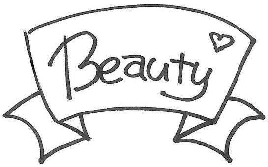 Beauty beauty ribbon