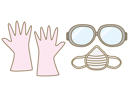 Gloves / goggles / mask