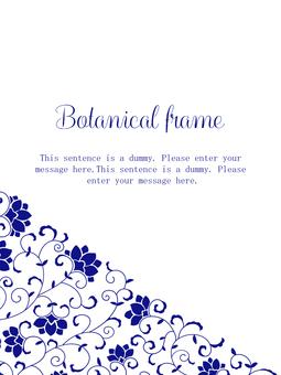 Saran frame 03 / blue