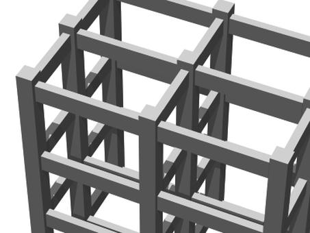 Partial expansion of ramen structure