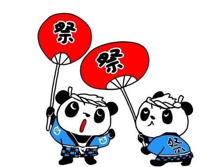 節日熊貓坤1