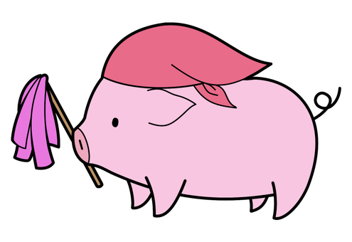 Pig cleaning