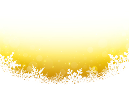 Winter Background · Snow Crystal · Yellow