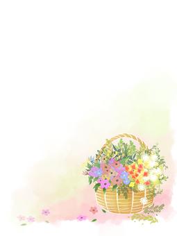 Flower basket (vertical)