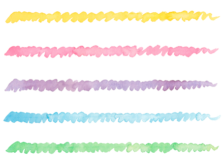 Watercolor line 7