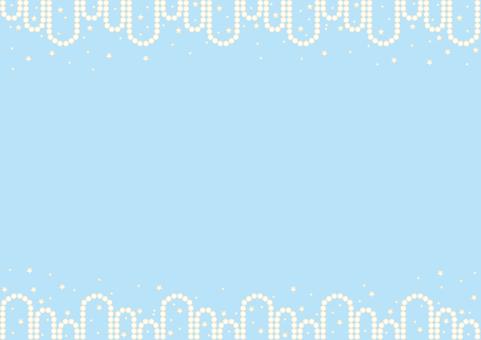 Wallpaper - Cross - Blue