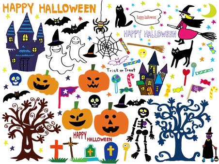 Halloween color