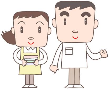 Nursing staff. 3