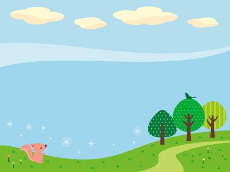 Prairie illustration