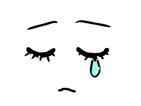 Face icon / tears
