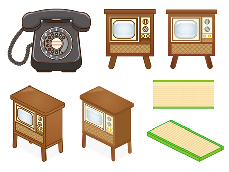 Showa retro home appliances
