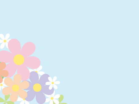 Flower background wallpaper material 2