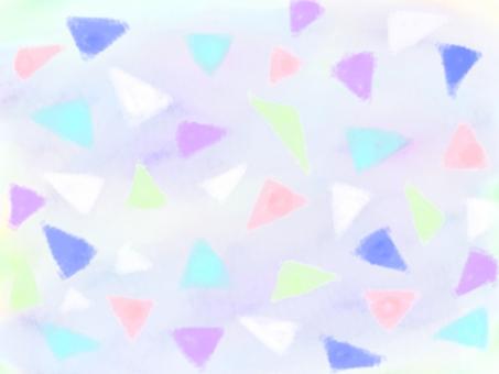 Colorful triangular background 1