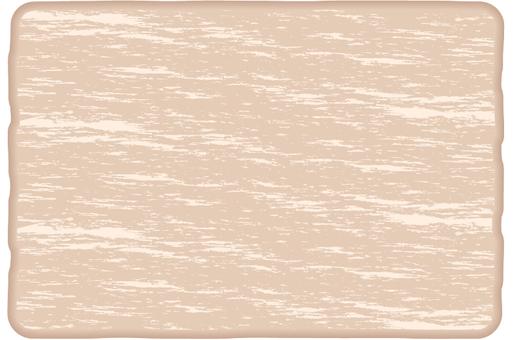 흰색 목조 프레임