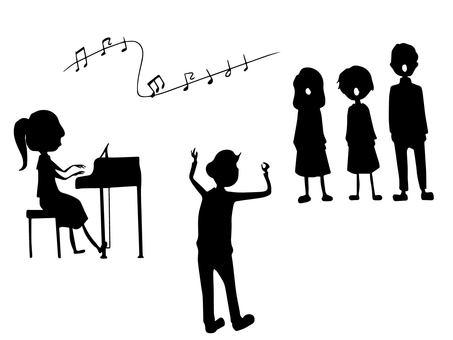 Chorus (silhouette)