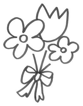 Flower bouquet bouquet