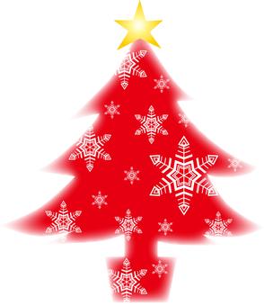 ต้นคริสต์มาสสีแดง