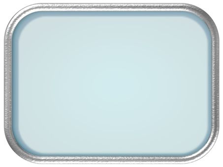 Silver framed glass