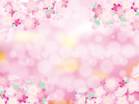 Graded background (38) Spring cherry
