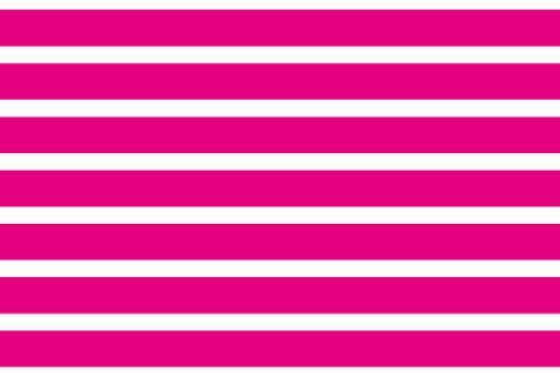 Stripe wallpaper Vivid pink