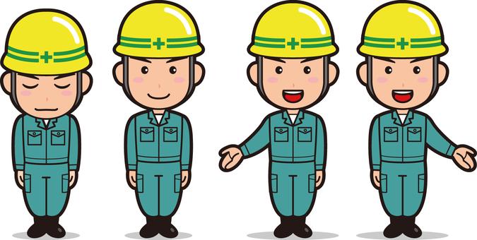 Operator 1 (men's work clothes)