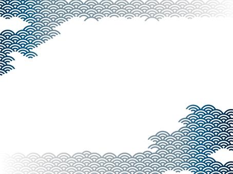 Qinghai wave - blue