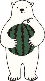 백곰 씨 (수박)