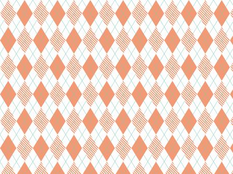 Argyle Pink × Stripe Pink