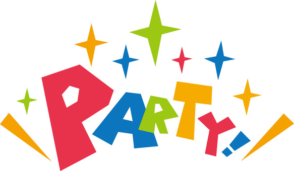 PARTY ☆ Party ☆ English pop logo