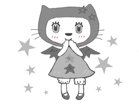 Black And White ☆ Cat