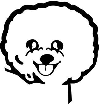 개 얼굴 4