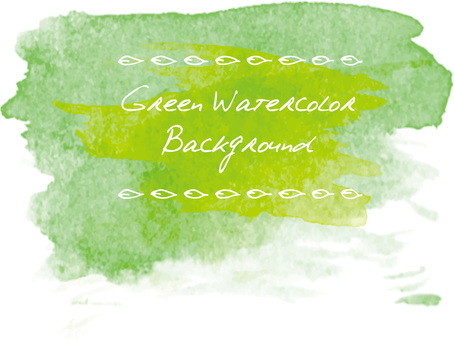 Background watercolor green