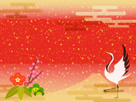New Year background -5