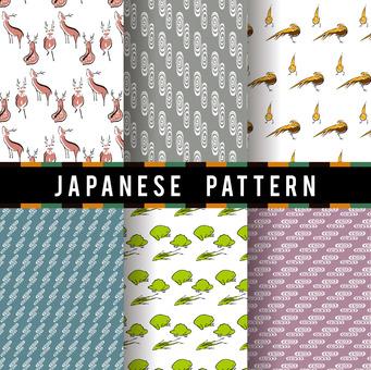 Ukiyo-e pattern 8
