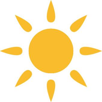 Sun sun icon