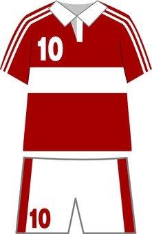 Uniform red