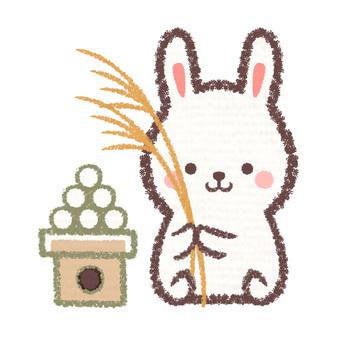 Susuki and dumpling rabbit