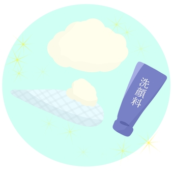 Facial wash bubbles 2