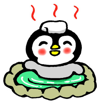 Hot Spring Penguin Hina 4 (without text)
