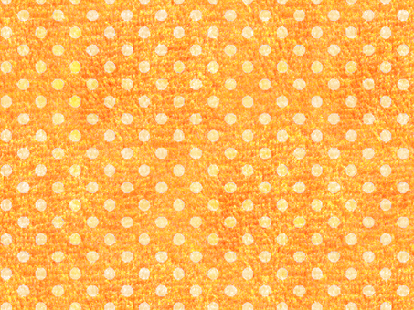 Orange polka dots carpet