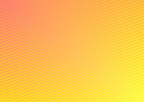 オレンジ色の斜線シンプル抽象背景素材