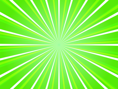 Concentration line green