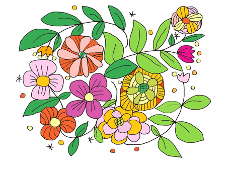 Lots of flower greeting cards