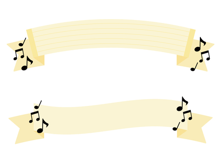 Ribbon of note
