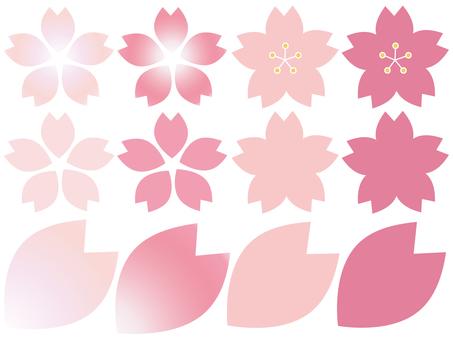 Cherry blossom frame material