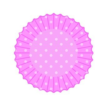 Silicone cup (polka dot · peach)