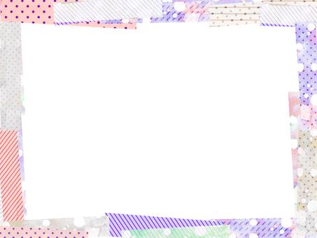 Colorful sticky note frame 3