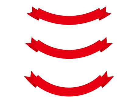 Ribbon 15 - red